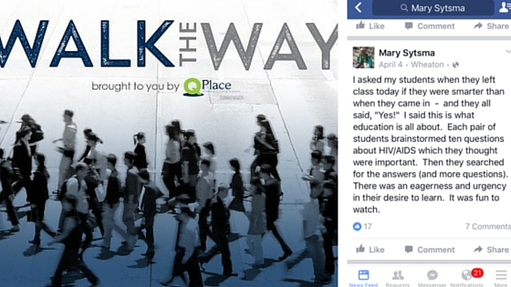 On the Radio – Walk the Way