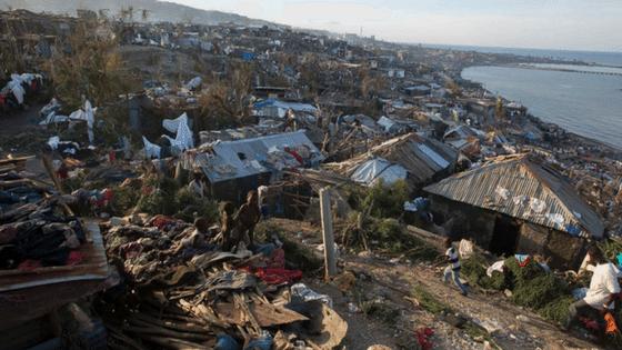 Leaning in: Haiti